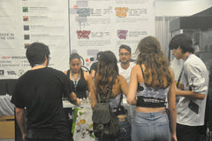 Steady flow of customers to the Element E-Liquid booth