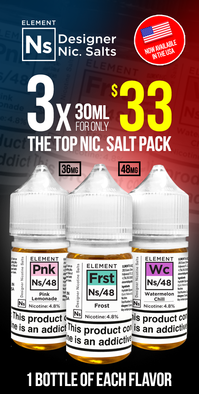Ns Nic. Salts Deal