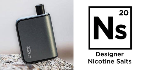 Aspire Gusto Mini Powered by Element E-Liquid's New Ns20 Nic Salts Pods Smashes UK Sales Record!