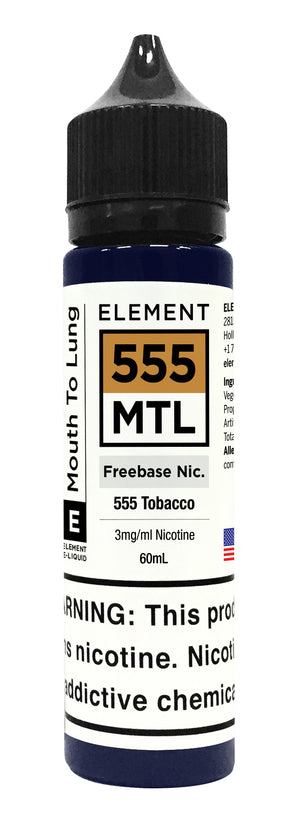 555 Tobacco MTL e-Liquid