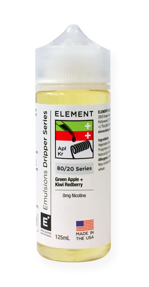 Emulsions Green Apple + Kiwi Redberry 125mL