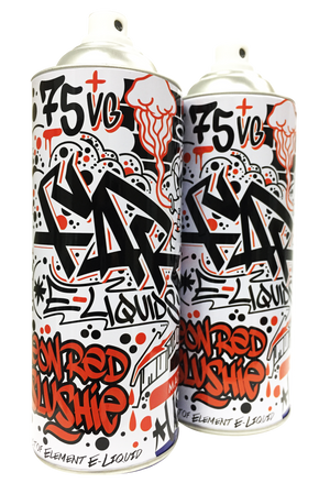 FAR Neon Red Slushie 100mL Spray Can 2-Pack