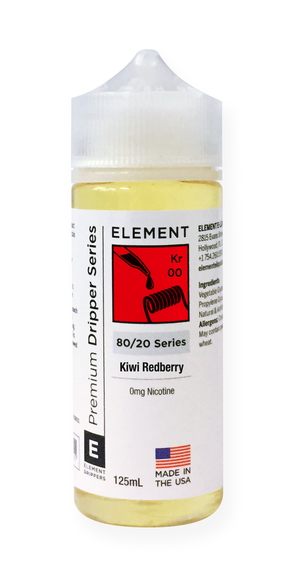 Kiwi Redberry Dripper e-Liquid 125mL