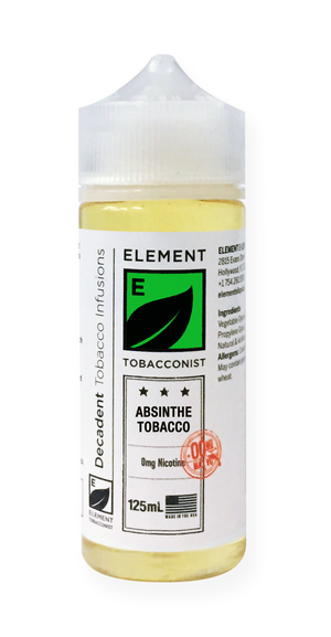 Element Tobacconist Absinthe Tobacco 125mL