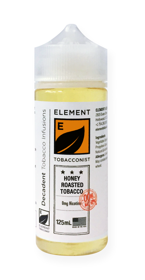 Element Tobacconist Honey Roasted Tobacco 125mL 2-pack