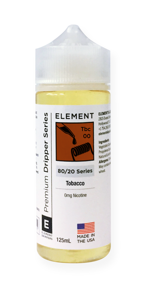 Tobacco Dripper e-Liquid 125mL 2-pack