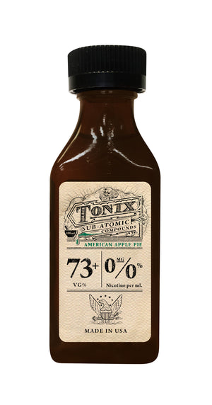 Tonix American Apple Pie 100mL