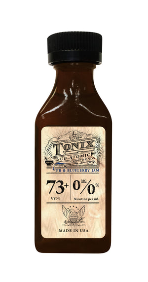 Tonix PB & Blueberry Jam 100mL