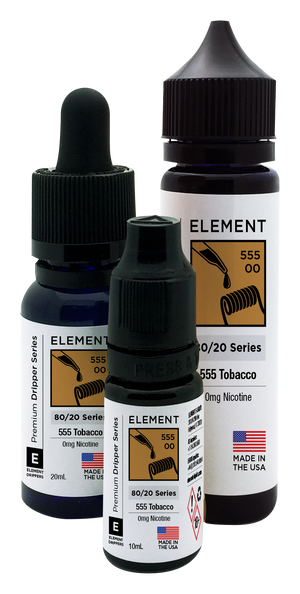 555 Tobacco Dripper e-Liquid