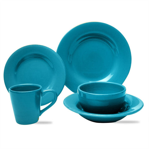 Turquoise Sonoma 20-Piece (4 x 5-Piece) Place Setting for 4 - SAVE 20%