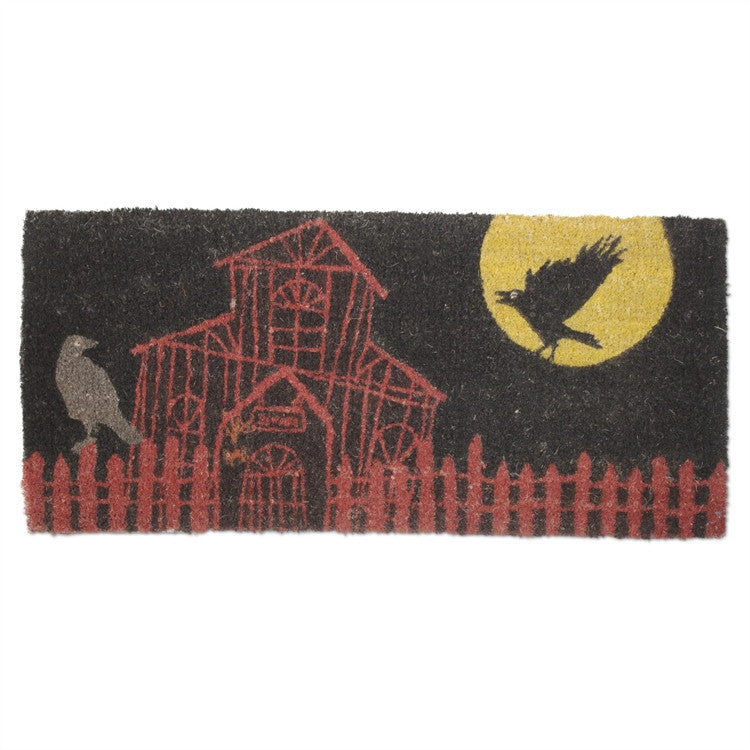 Haunted House Estate Coir Mat