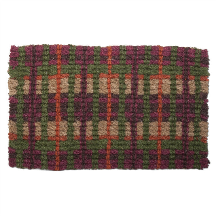 Market Plaid Coir Mat