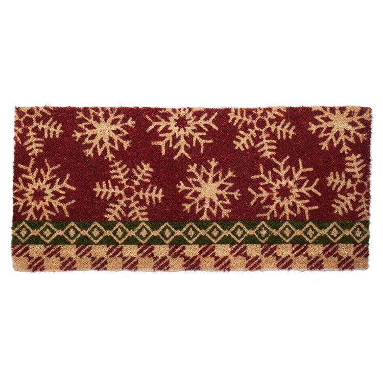 Snowflake Estate Coir Mat