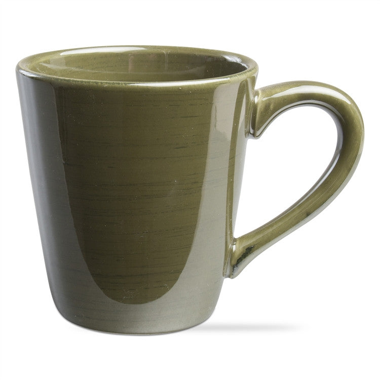 Moss Green Sonoma Mugs, Set of 4