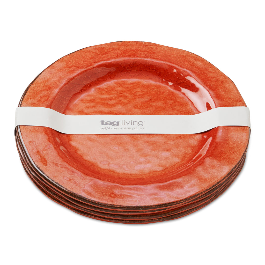 Coral Veranda Melamine Dinner Plates Set of 4  sc 1 st  tag Home Decor & Dinner Plates u2013 tag Home Decor