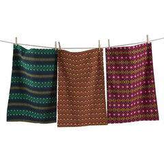 Global Dishtowels, Set of 3
