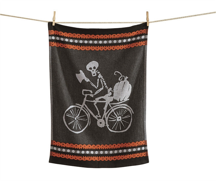 Mr. Bonez Jacquard Dishtowel