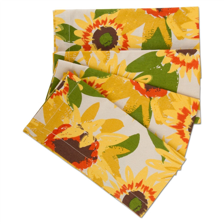 Sunflower Napkins, Set of 4