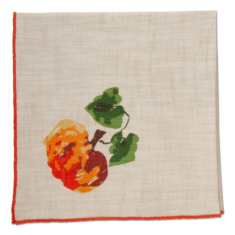 Pumpkin Napkins, Set of 4