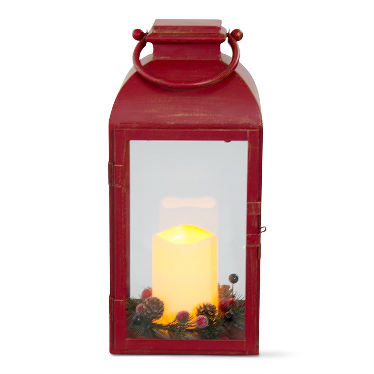 Benton Flameless LED Lantern, Large