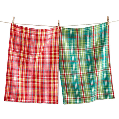 Hip Holiday Woven Dishtowels, Set of 2