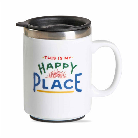 Happy Place Insulated Travel Mug
