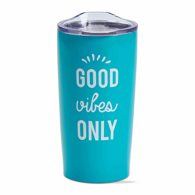 Good Vibes Double Walled Stainless Steel Tumbler