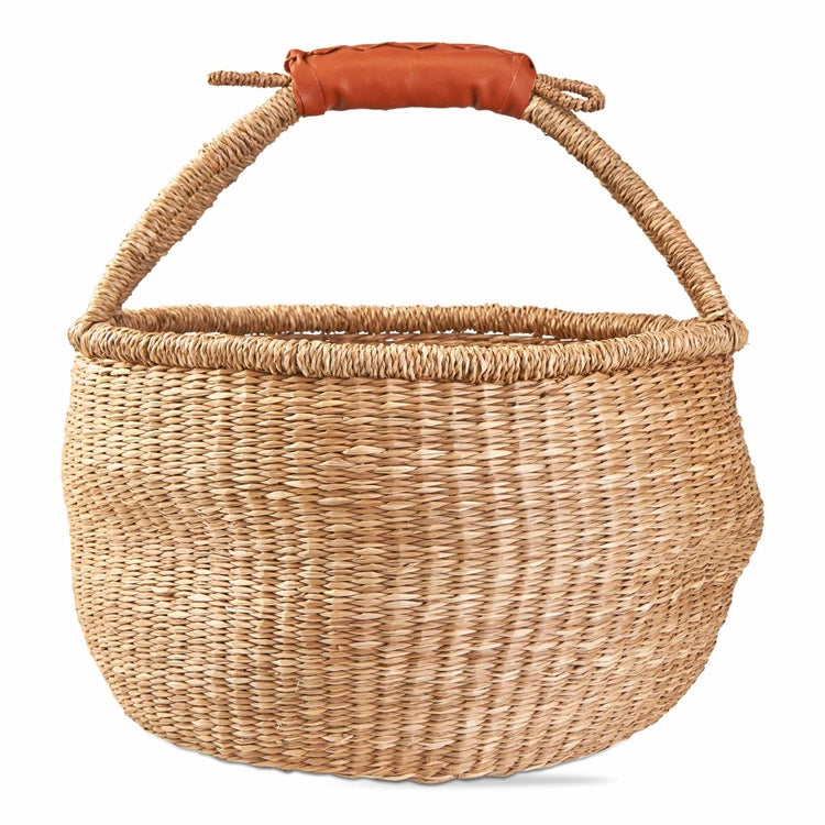 Handled Seagrass Basket