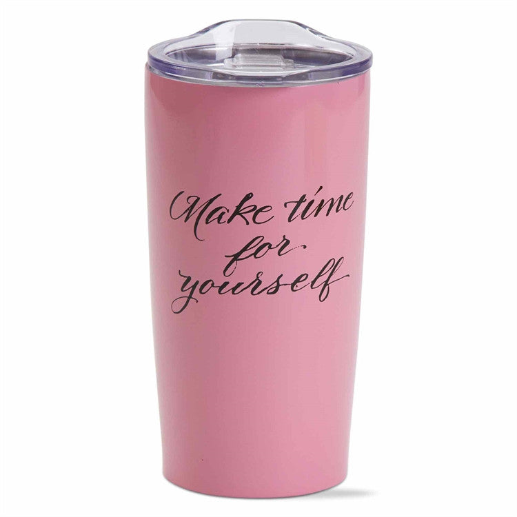 Make Time Double Walled Stainless Steel Tumbler
