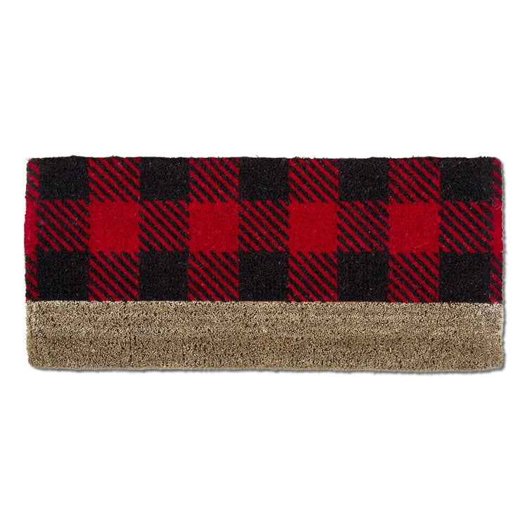 Buffalo Check Estate Boot Scrape Coir Mat