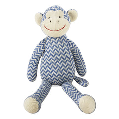 Knit Monkey Plush