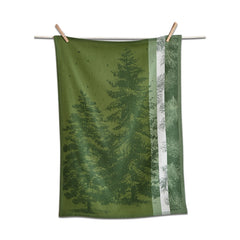 Evergreen Jacquard Dishtowel