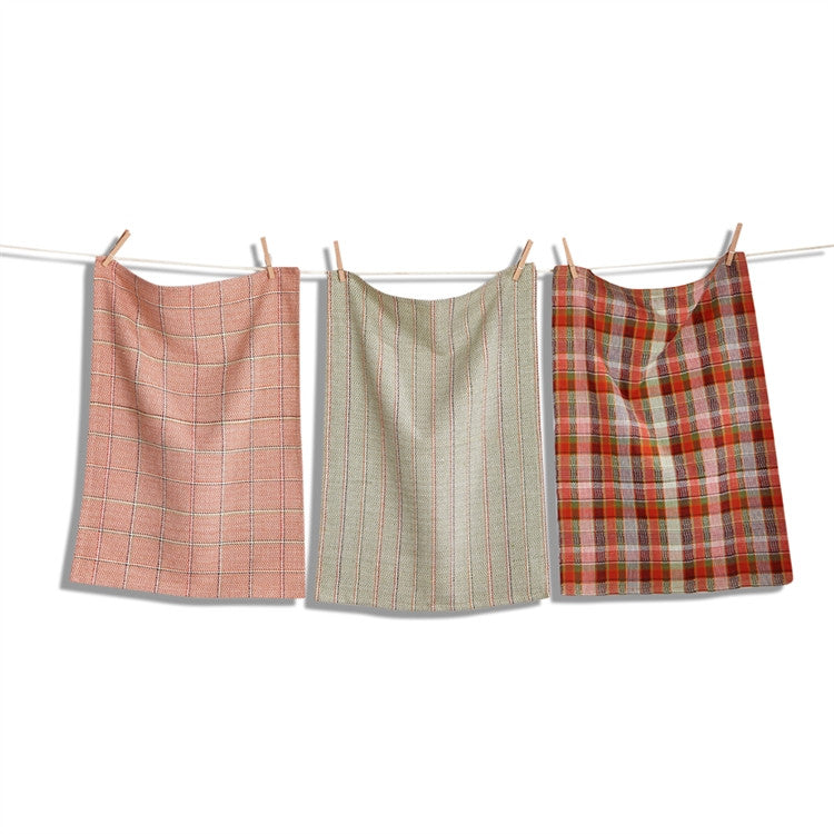 Harvest Textured Dishtowels, Set of 3