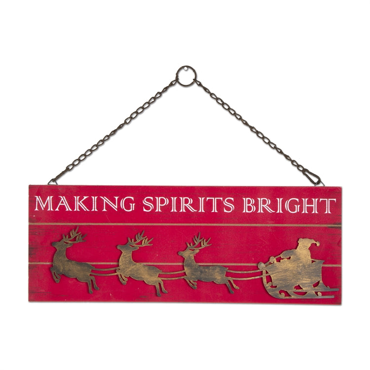 Making Spirits Bright Wall Art