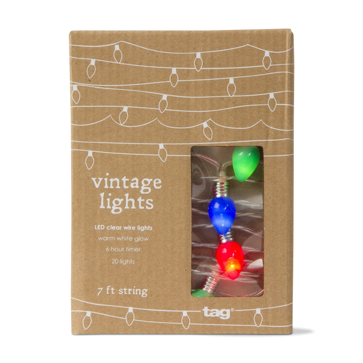 Vintage Bulbs LED String Lights