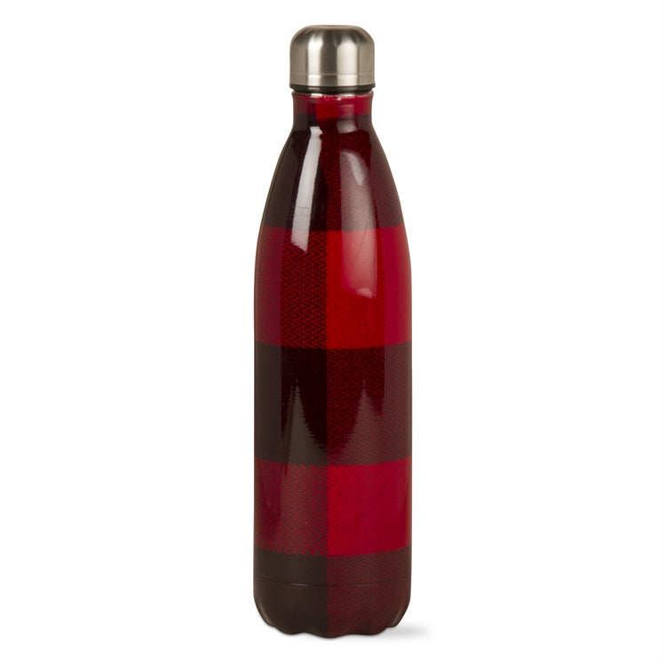 Buffalo Check 25 Ounce Double Walled Stainless Steel Bottle