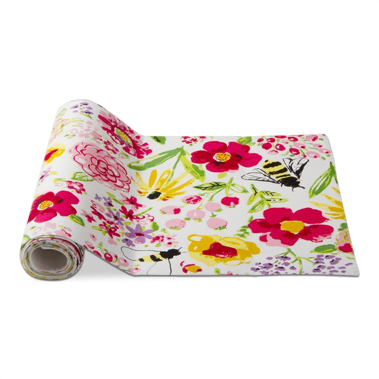 Fresh Flowers Garden Runner