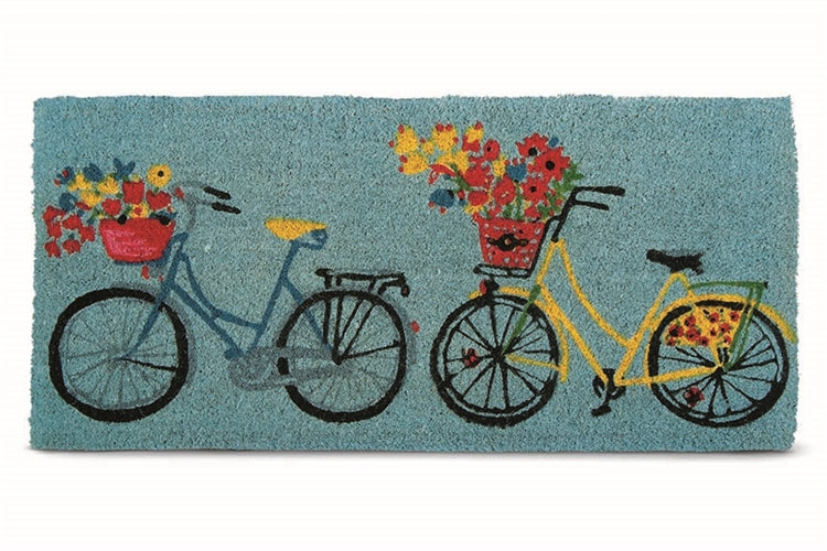Bike Rider Estate Coir Mat