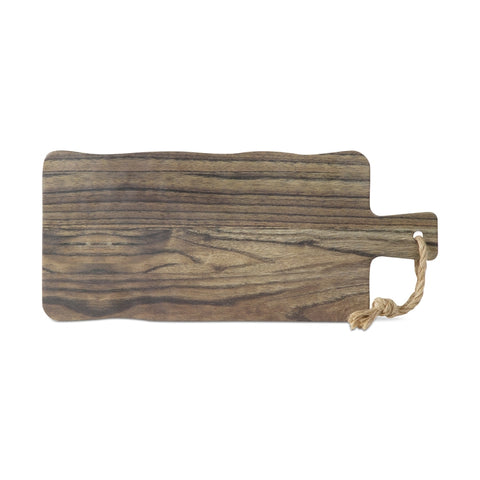 Barnwood Melamine Cheese Serving Board