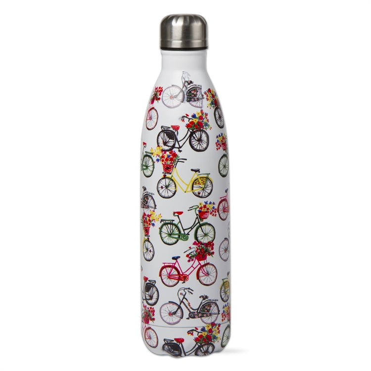 Bike Ride 25 Ounce Stainless Steel Bottle