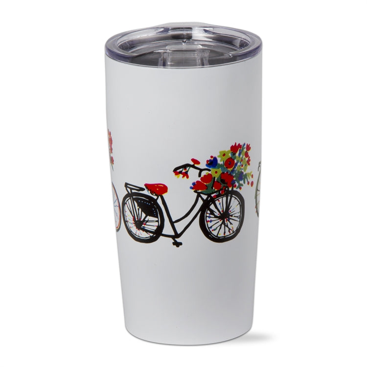 Bike Rider Stainless Steel Tumbler