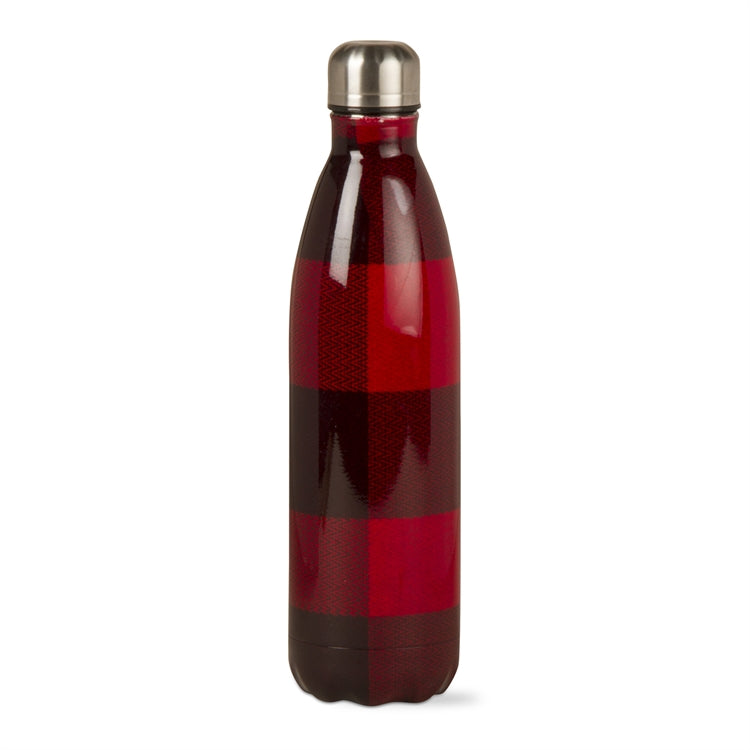 Buffalo Check 16 Ounce Stainless Steel Bottle
