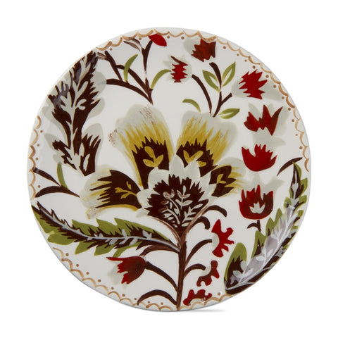 Autumn Bloom Appetizer Plate, Multi Harvest