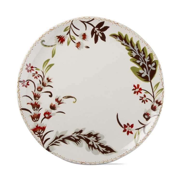 Autumn Bloom Round Gift Platter, Multi Harvest