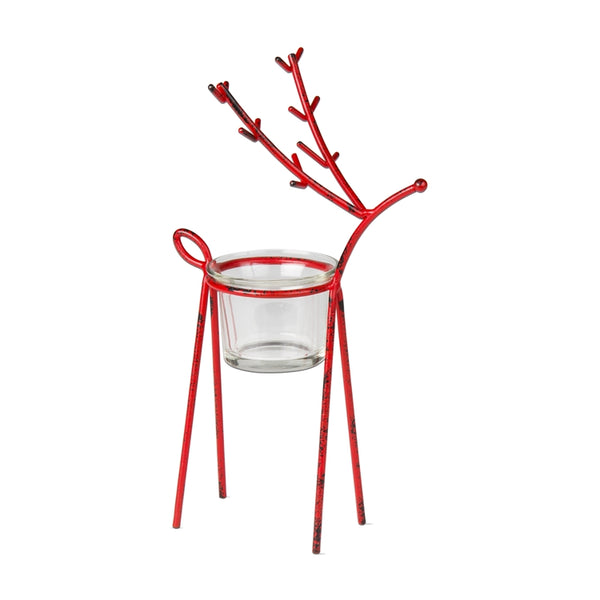 Reindeer Tealight Holder, Small