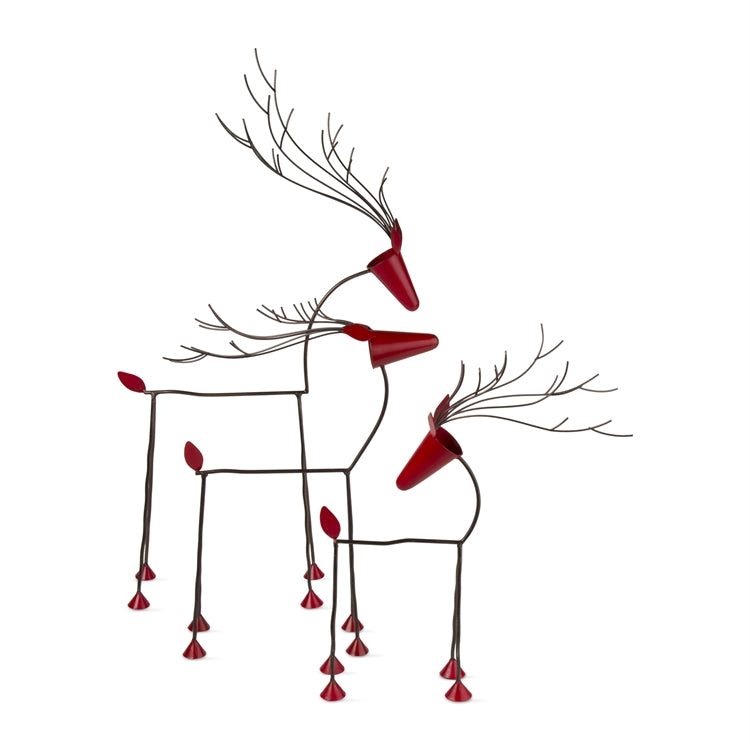 Reindeer Decor, Set of 3