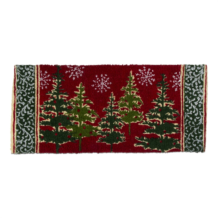 Tis the Season Trees Estate Coir Mat