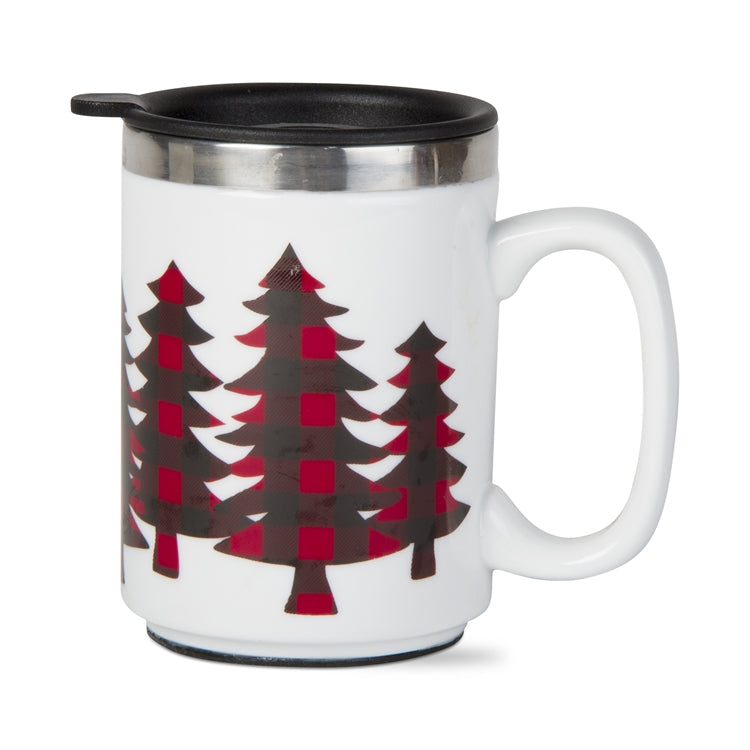 Buffalo Trees Insulated Travel Mug