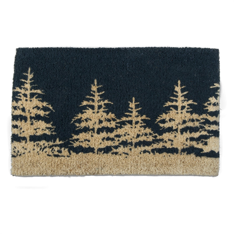 Winter Tree Coir Mat