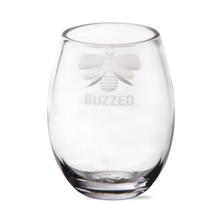 Buzzed Stemless Wine Glass